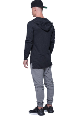 Light Weight Hoodie | Athletic Gray
