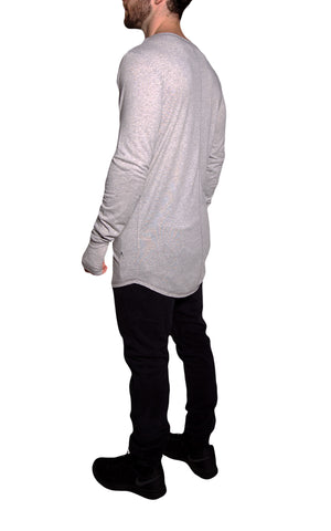 Core Long Sleeve Tee | Athletic Gray