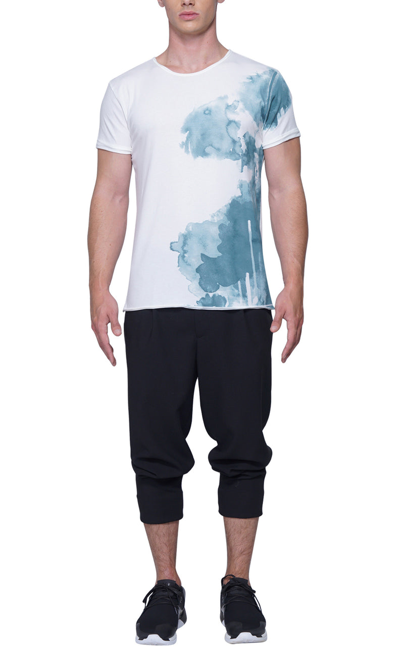Splash Artist Tee | Green