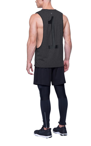 Ultimate Gym Cut-Off | Charcoal