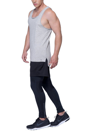 Muscle Tank | Athletic Gray
