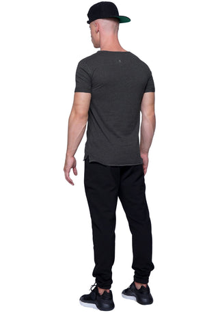 Perfect Muscle Tee | Charcoal