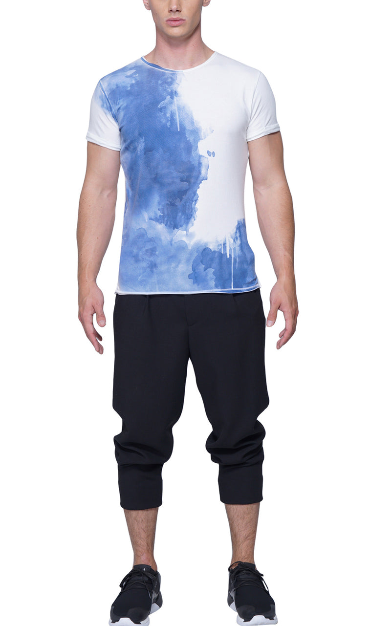 Splash Artist Tee | Blue