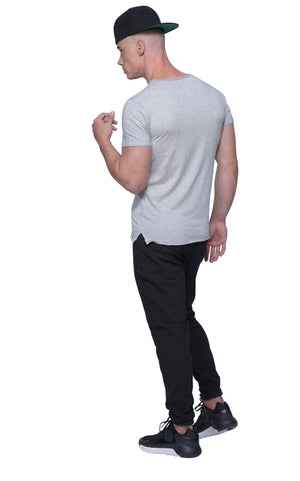 Perfect Muscle Tee | Athletic Gray