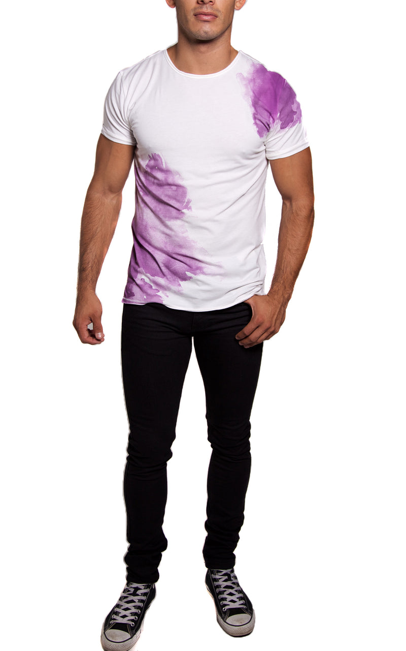 Splash Artist Tee | Purple