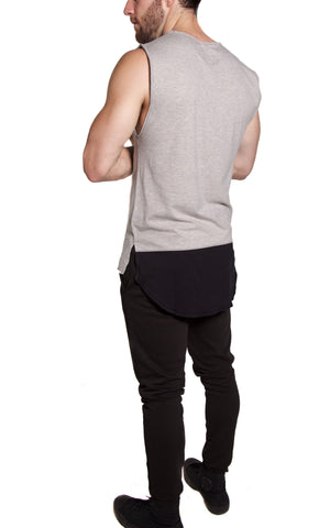 Warrior Sleeveless | Athletic Gray