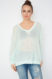 French Connection Aqua Lightweight Knitted Jumper