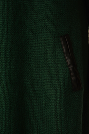 Green Knitted Midi Jumper Dress