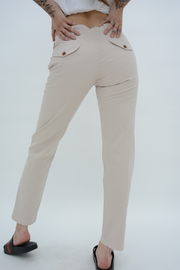 French Connection Stone Casual Chino Trousers