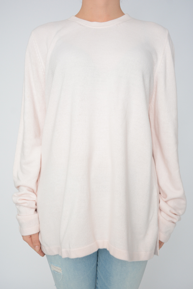 Baby Pink Soft Lightweight Knit Jumper