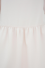 FRENCH CONNECTION BLUSH CREPE SMOCK DRESS