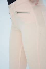 French Connection Lily Apricot Zip Super Skinny Jeans