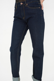 French Connection Premium Rinse Wash Straight Leg Tomboy Jeans