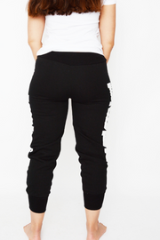 Black Love Logo Regular Fit Joggers
