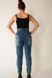 Blue Denim Slim Fit Stretchy Jeans