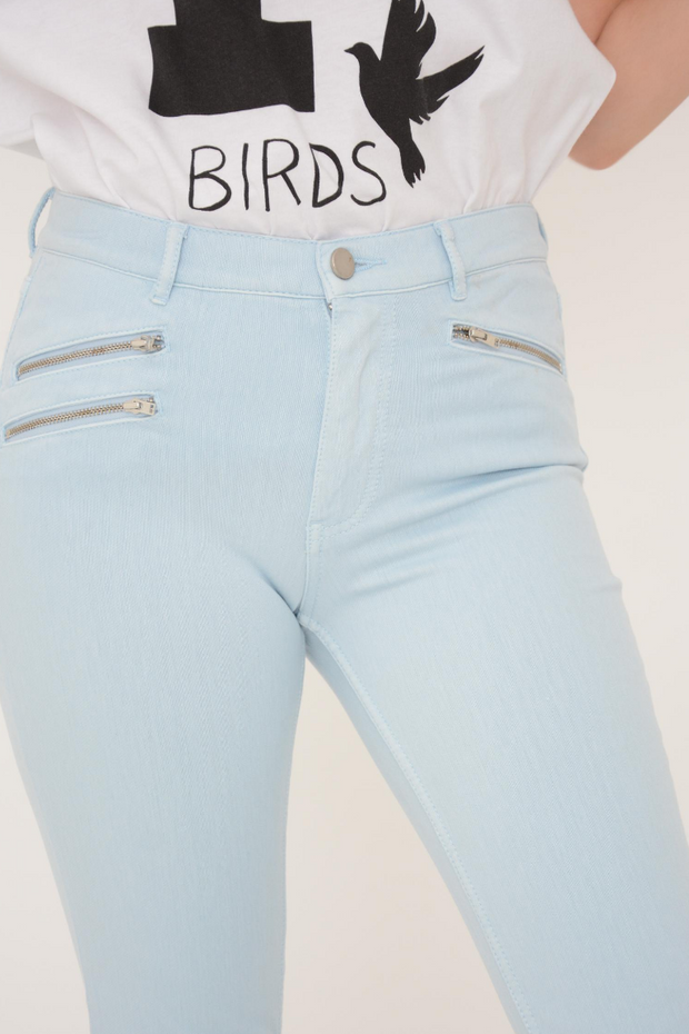 French Connection Sky Blue Lily Super Skinny Jeans