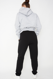French Connection Velvet Contrast Jogger