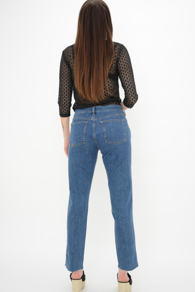 French Connection Vintage Blue Stretch Relaxed Skinny Jeans
