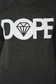 Grey Dope Logo Jersey Sweater