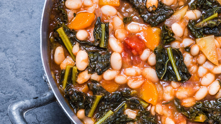 Navy Bean & Kale Soup