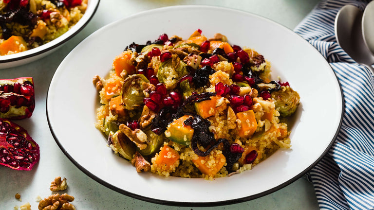 Lemon Quinoa with Butternut Squash