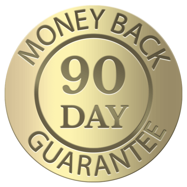 MenoLabs offers a 90 Day Money Back Guarantee on all of our probiotics for menopause relief