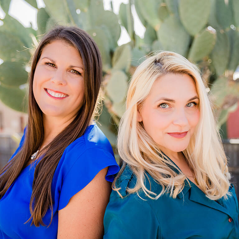 Connect with MenoLabs Founders Vanessa and Danielle