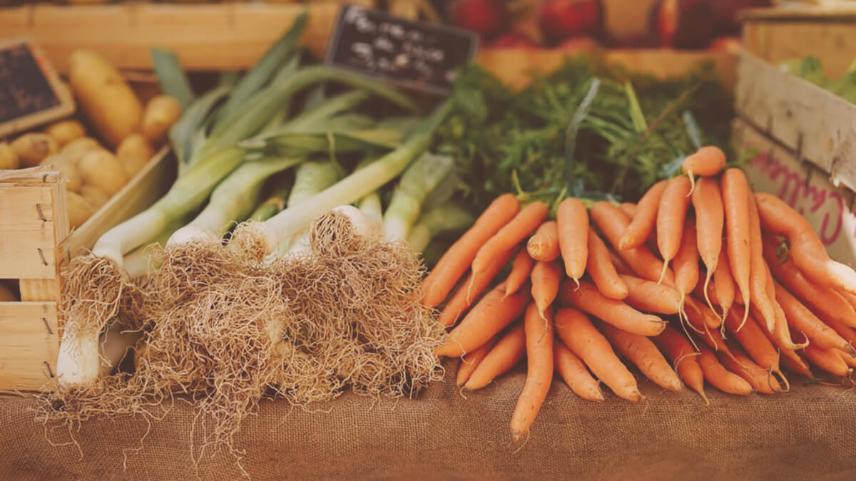 Eat more carrots and dark leafy greens to get vitamin A