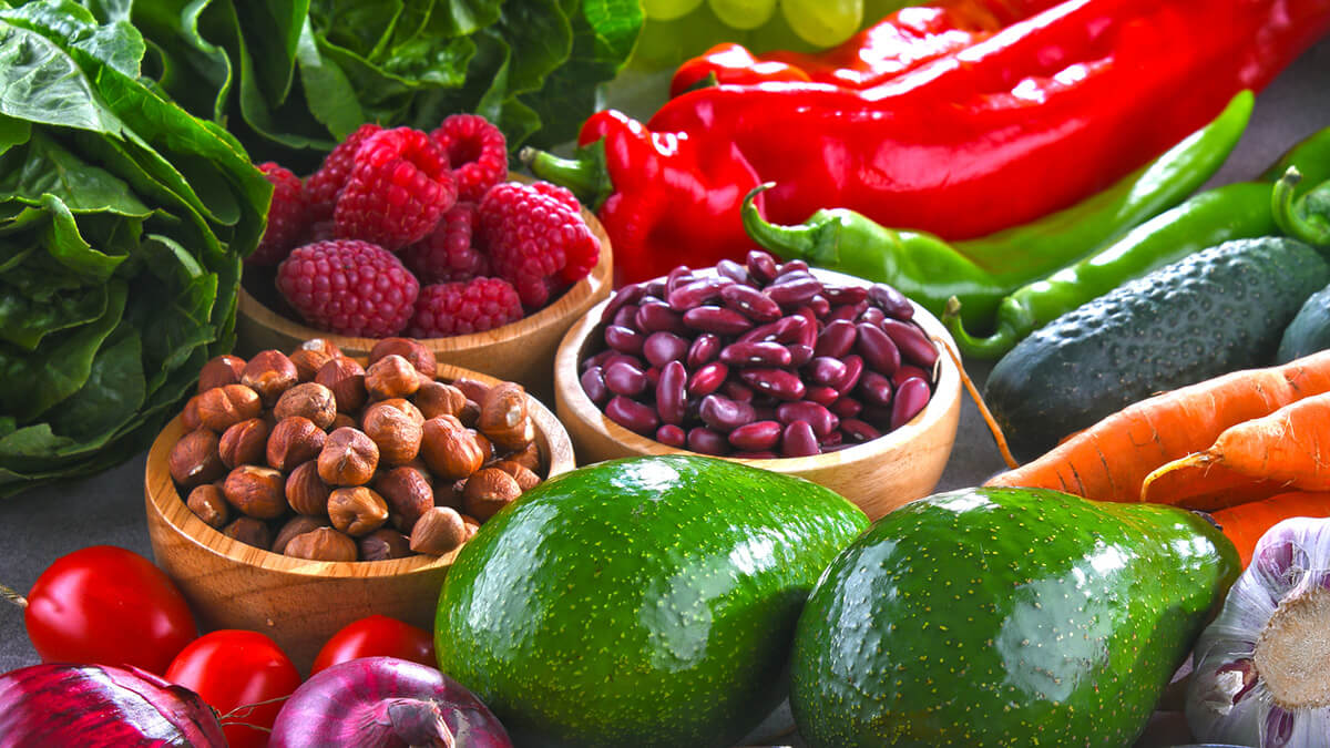 Fruits, vegetables, and legumes contain most of their fibers in their skins, with some exceptions