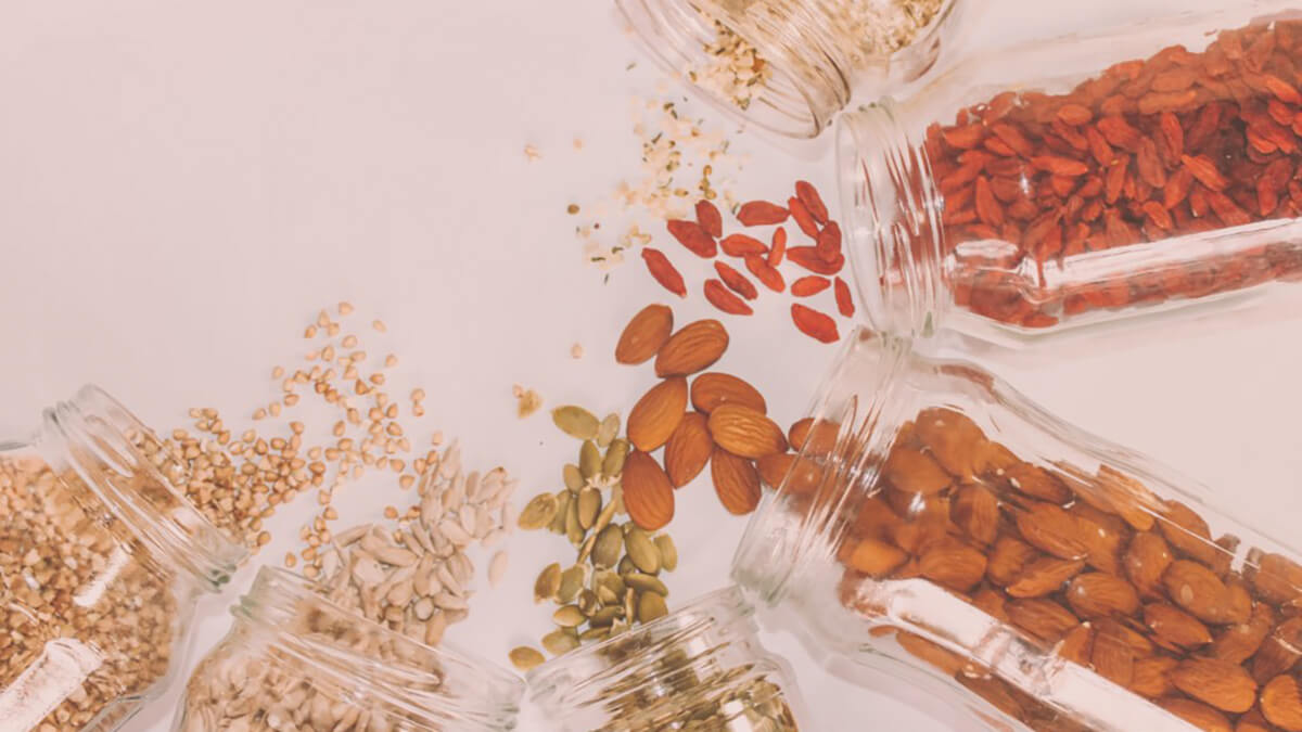 Get your B-vitamins from nuts and seeds