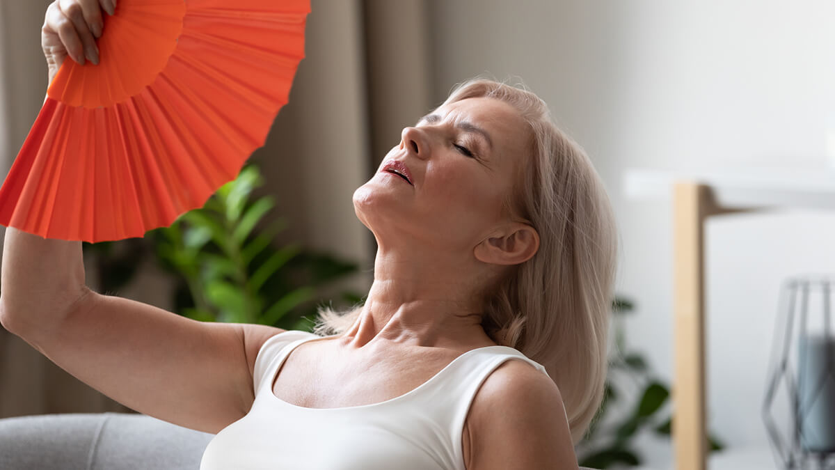 Hot flashes are the most common menopausal symptom