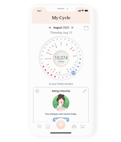 Track your symptoms with the MenoLife App!