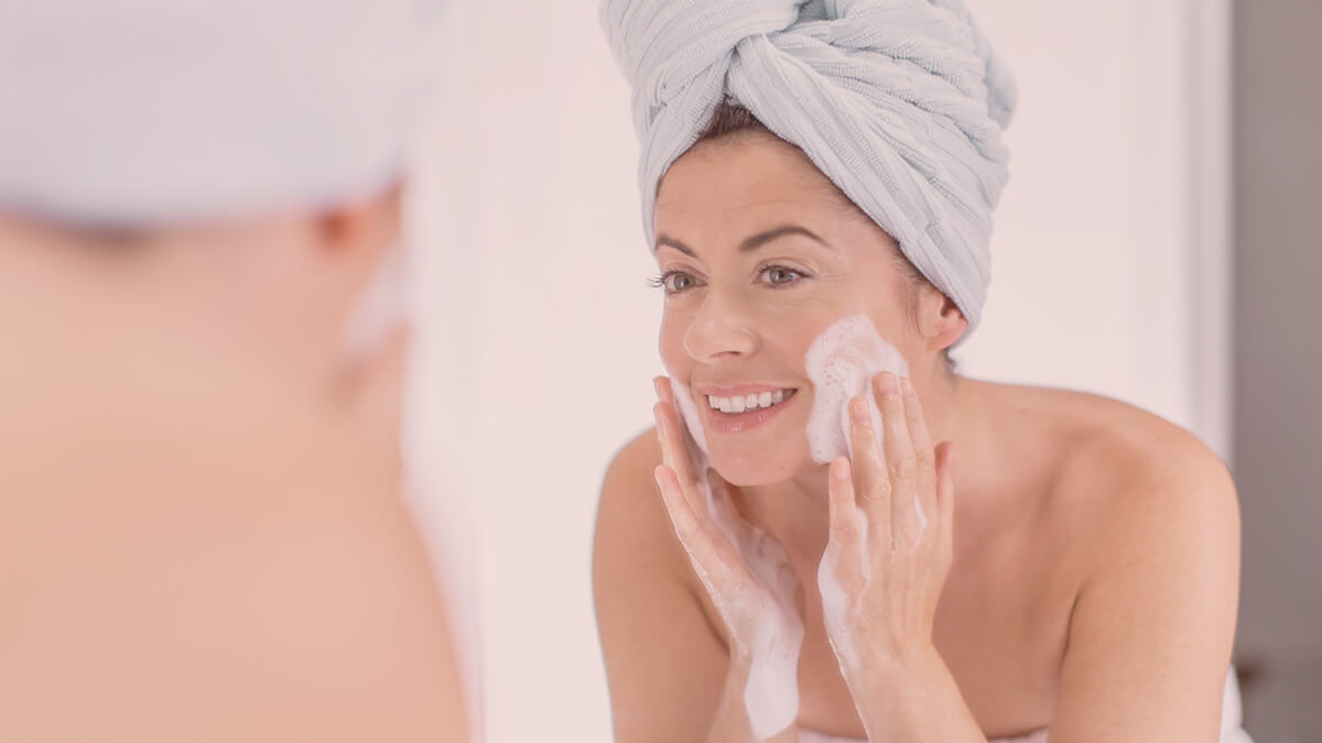 Using the right skincare in menopause is important