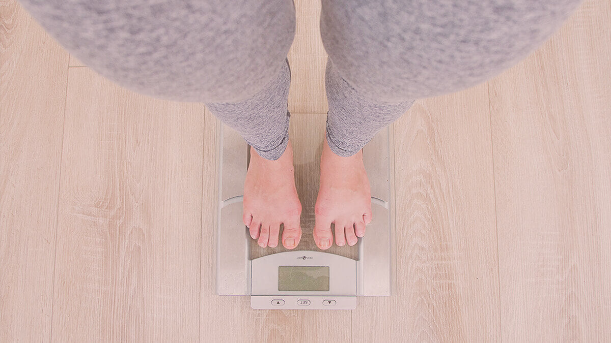 Weight gain is a common problem for women in menopause