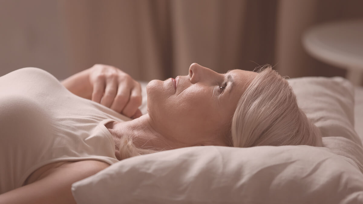 Menopause reduces our ability to sleep and can increase anxiety