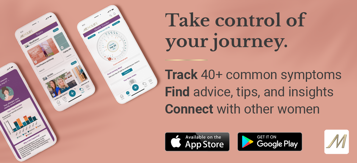 Free Menopause Health App For Women - Track Periods, Symptoms, Find Relief