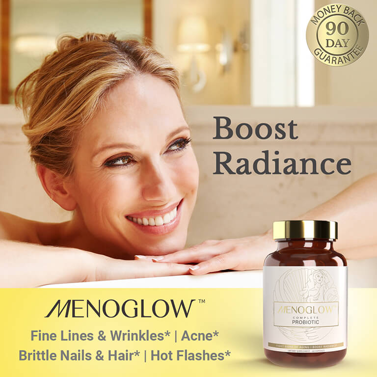 MenoGlow Complete Probiotic for Signs of Aging