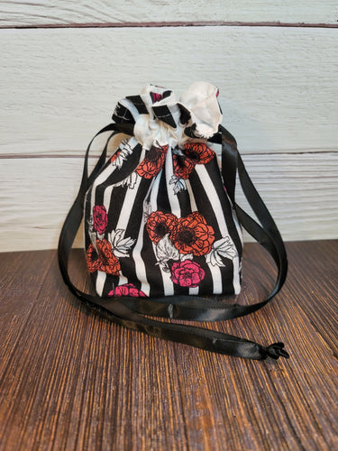 Floral Stripe Small Gift Bag