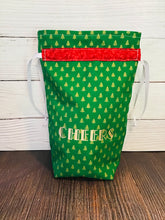 Load image into Gallery viewer, Cheers! Green Holiday Bag!