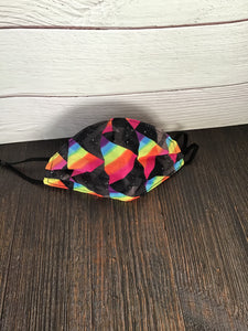 Rainbow Prism Face Mask
