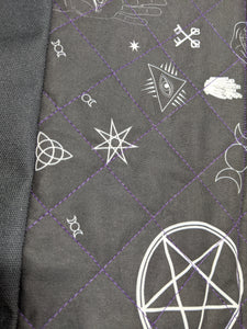 Large Pentagram Cat Tote
