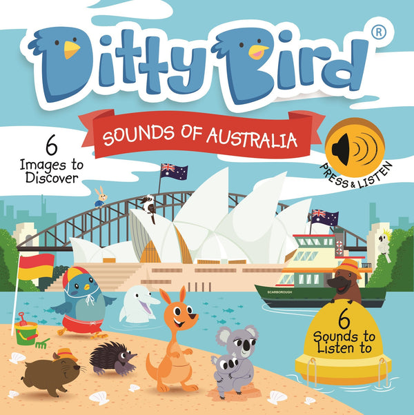 Ditty Bird Board Book - Sounds of Australia