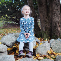 Kidpole Organics Amaryllis Dress