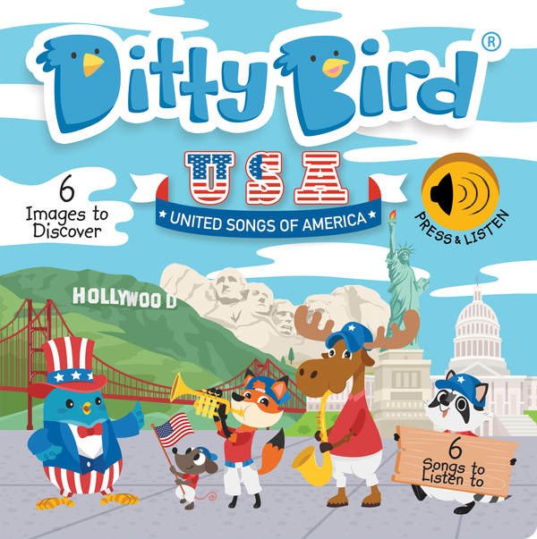Ditty Bird Board Book - United Songs of America