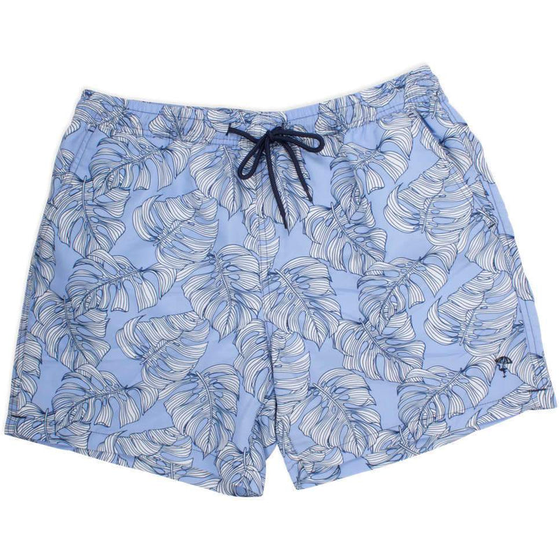 Shade Critters Men's Trunk - Blue Leaf