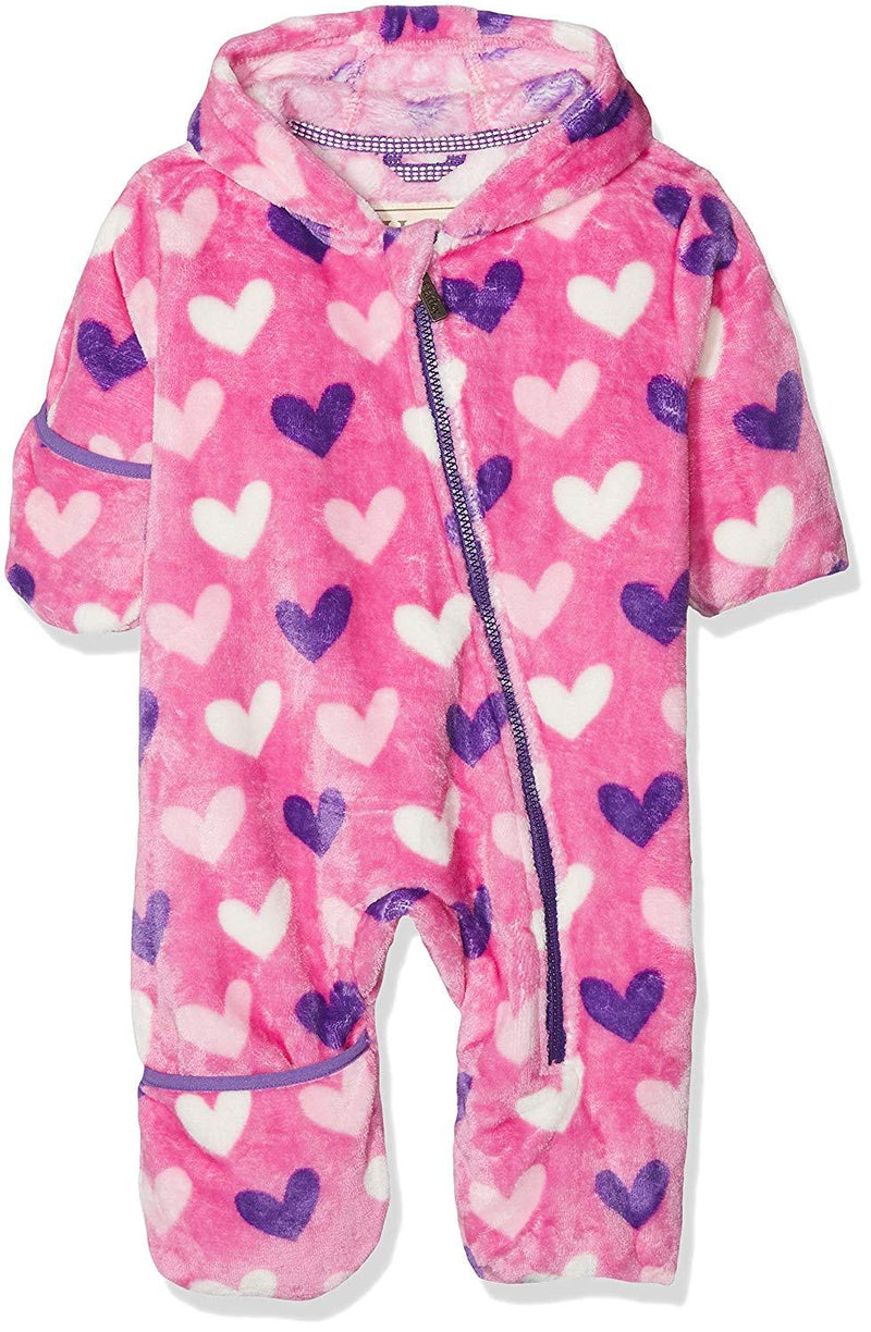 Hatley Fleece Bundler Multi Hearts