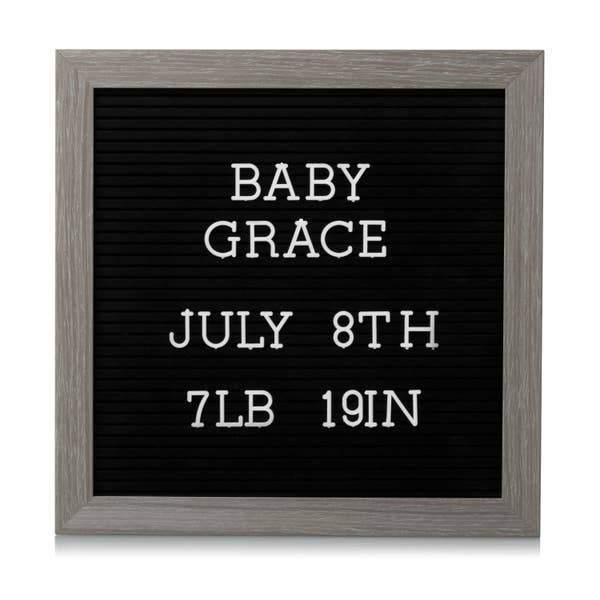 Letterboard Set - Dark Gray