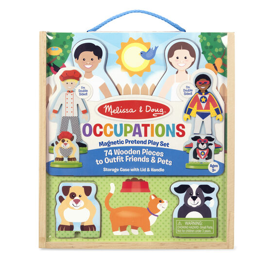 Melissa & Doug: Occupations Magnetic Pretend Play Set