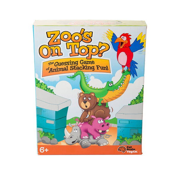 Fat Brain Toys: Zoo's On Top
