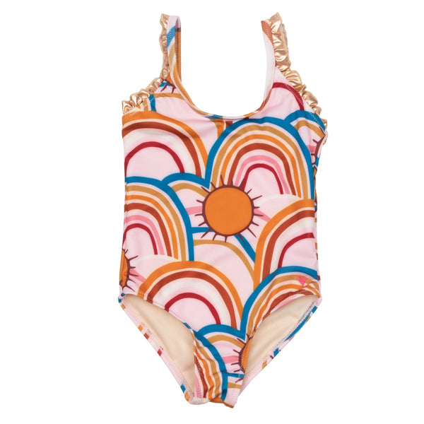 Pink Chicken Rainbow Claire SwimSuit